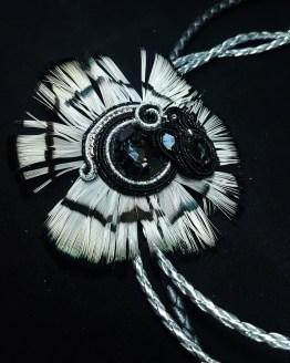 Solal bijoux haute fantaisie collier broche