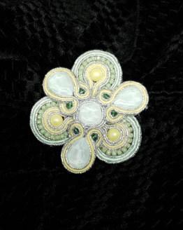 Solal Bijoux Haute Fantaisie bijou nomade pastel vert et jaune