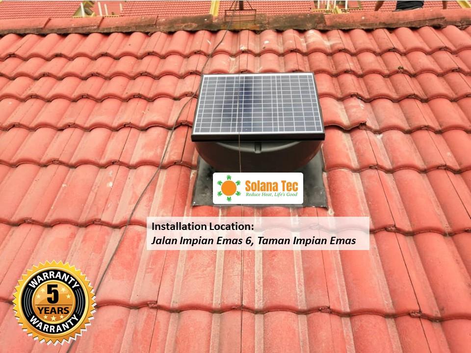 best 5 roof ventilation fan in johor