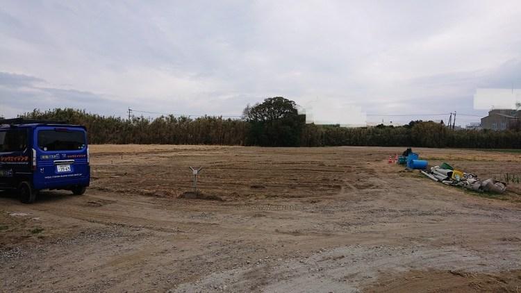 宮崎市内の建設予定地