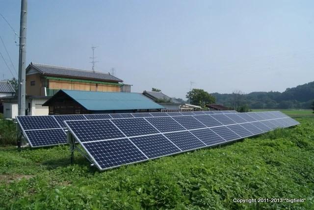 米サンパワー製ソーラーパネルを採用したピッピさんの太陽光発電所