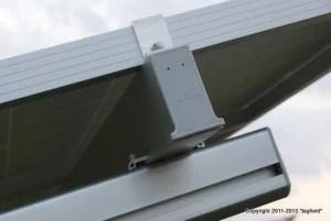 CLENERGYのソーラーパネル用架台