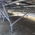 太陽光発電所の架台について