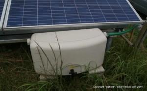 雨水を貯める貯水タンク