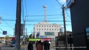東電・竜ヶ崎支社へと歩く