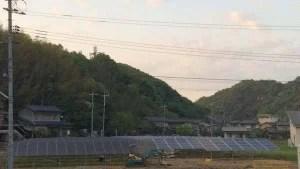 太陽光発電所2号基(施工中)
