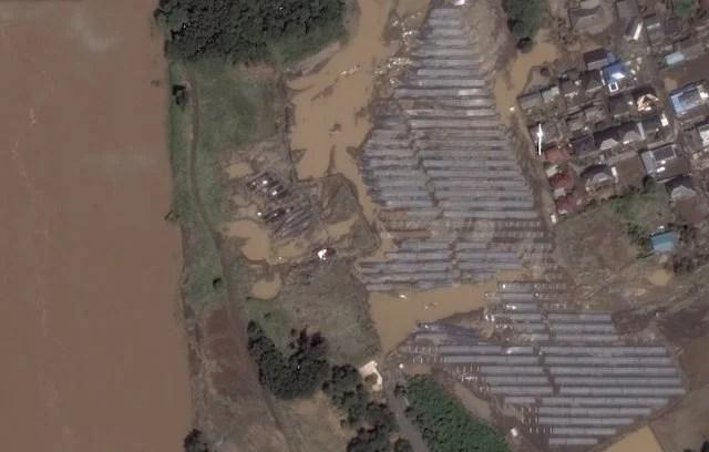 関東・東北水害 2015 (出典: Google クライシスレスポンス)