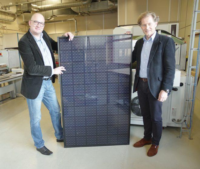 Внешний вид солнечных модулей Energyra