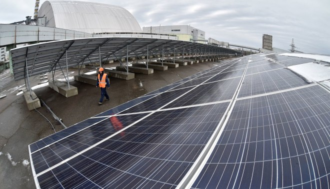 Проект Solar Chernobyl - СЭС на территории 4 энергоблока ЧАЭС