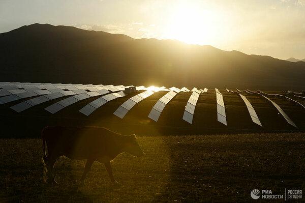 Солнечные парки, как развитие индийской энергетики