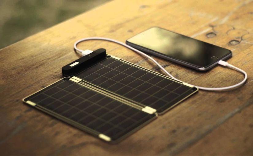 Solar Paper - инновационная солнечная зарядка