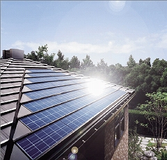 太陽光発電(寄棟)