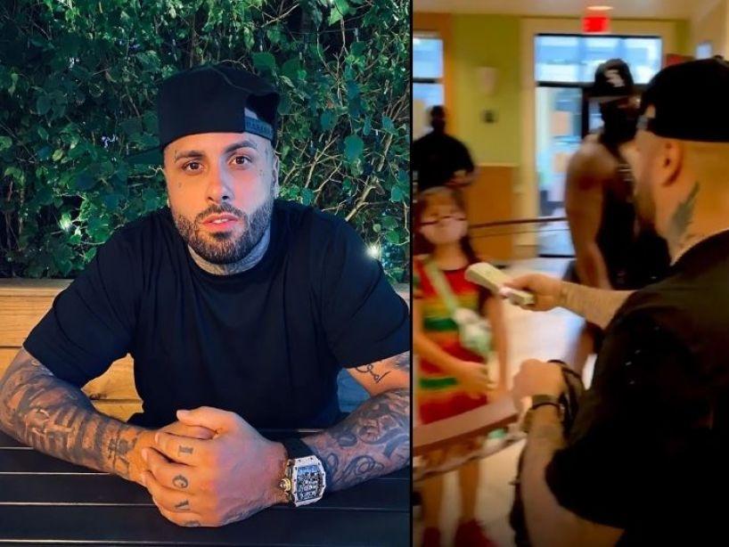 ¿Por qué Nicky Jam regaló miles de dólares a los empelados de un local de comida rápida?