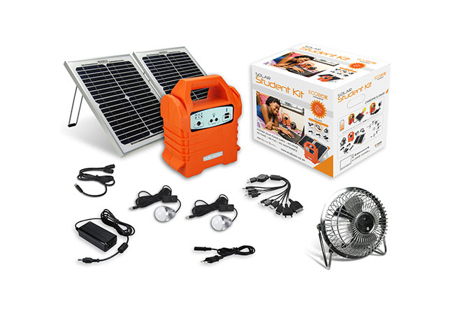 Solar cell charger | Ecoboxx Student kit | Buy now