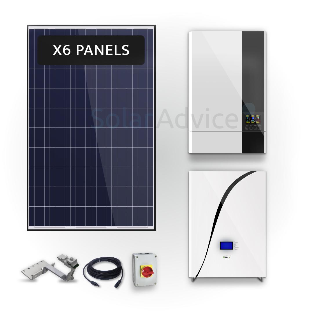 Sunforce – Lithium-ion Storage 5kwh – Solar Power Kit