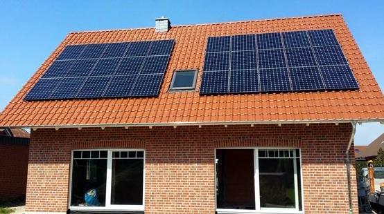 Solaranlage Photovoltaik in Brome