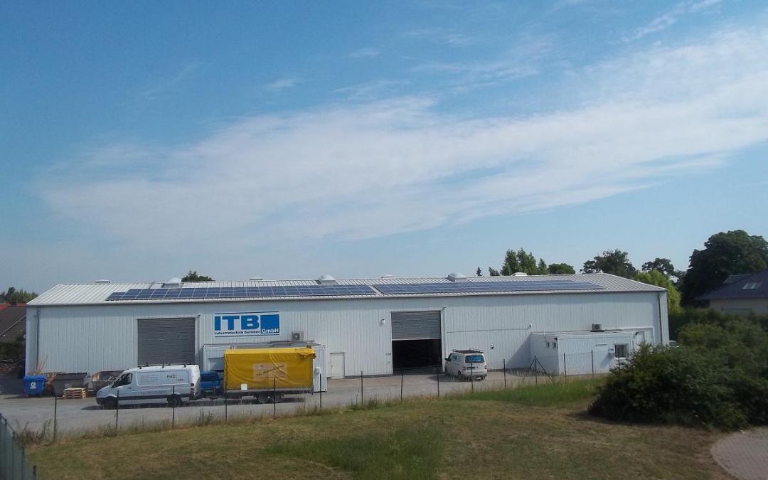 ITB Industrietechnik Barleben wird mit einer Photovoltaik-Anlage aufgerüstet