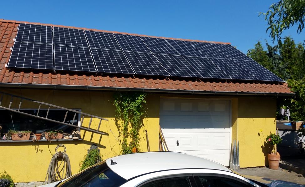 Solaranlage Photovoltaik in Salzwedel mit LG Mono