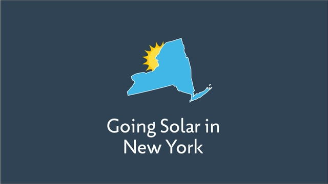 Going Solar in New York