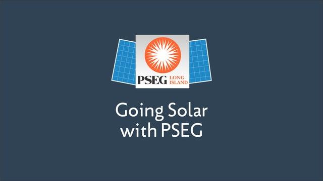 Going Solar with PSEG