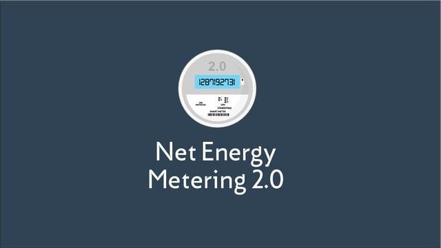 Net Energy Metering 2.0