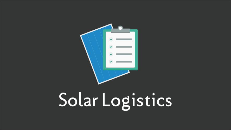 Solar Logistics