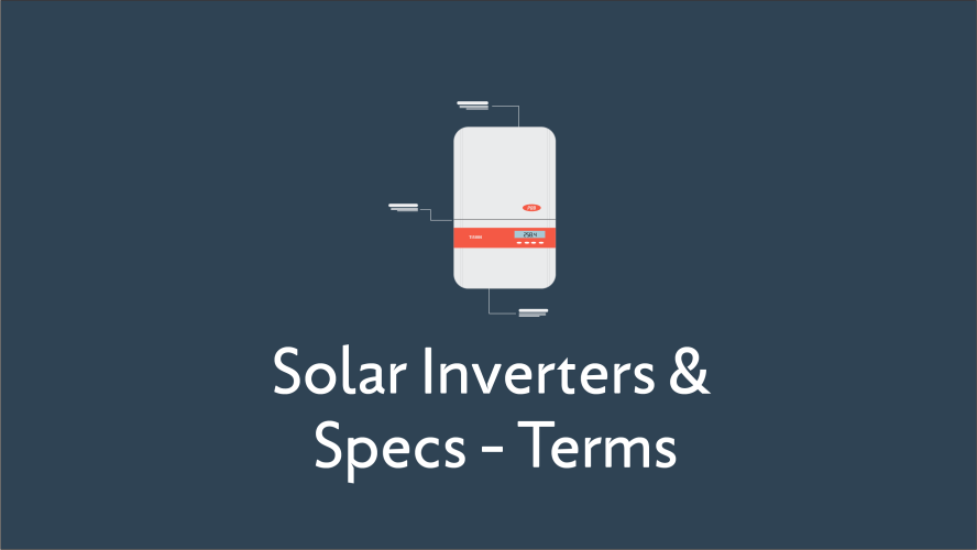 Solar Inverters Terms