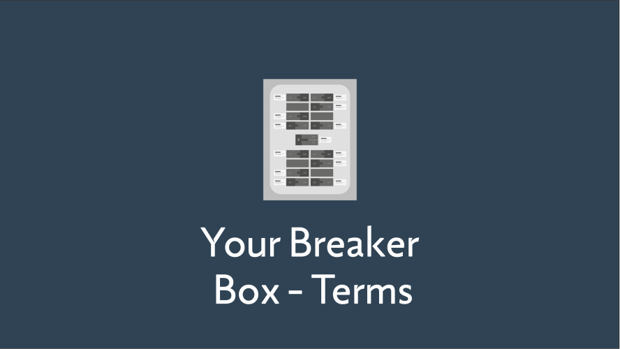 Your Breaker Box Terms
