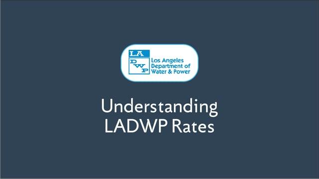 Understanding LADWP Energy Rates