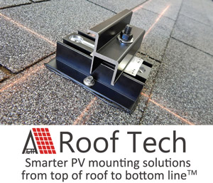 Roof Tech Adds 72 Cell Module To Residential Rail Less Solution