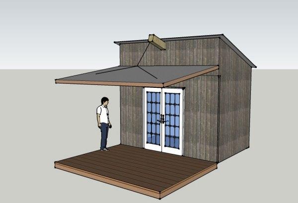 secure cabin idea - open