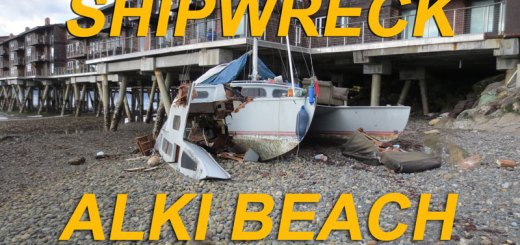 shipwreck on alki beach