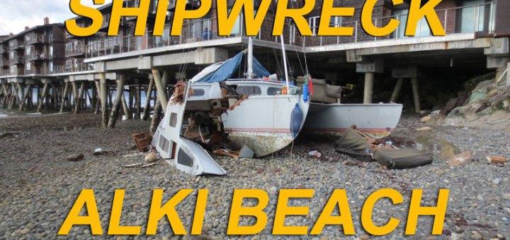 shipwreck on alki beach