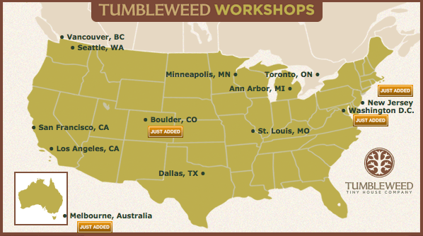Tumbleweed Houses WorkShop