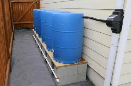Rain water downspout diverter filter