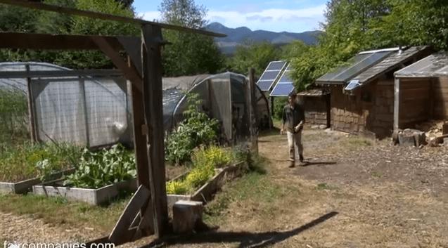 Amazing Off Grid Handcrafted Life On Oregon Farm