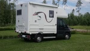 Solar Caravan Park - small campervan