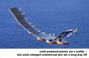 solar-powered plane