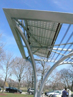 solar carport in chicago area