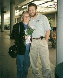 photo of Scott and Julie Brusaw