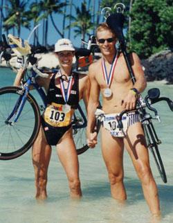 Photo of Alexandra Paul and Ian Murray.