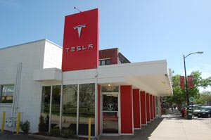 tesla-show-outside
