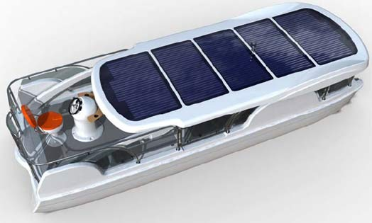 Solar-electric boat to be built in New York