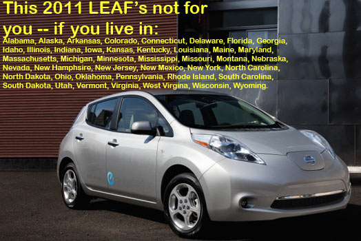 Reserved A Nissan Leaf In 2010 But Dont Live In A Roll Out State