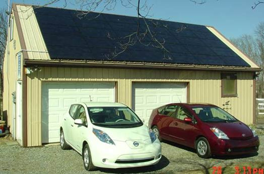penn-couple-EV-PV-LEAF