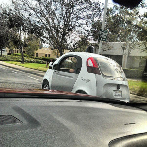 Another of Google's self-driving vehicles. [Flickr.Com Creative Commons Photo by Erik Loenroth]