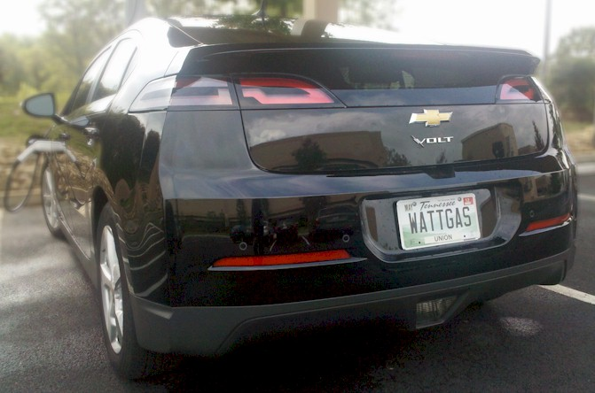Electric car vanity plates from across the United States