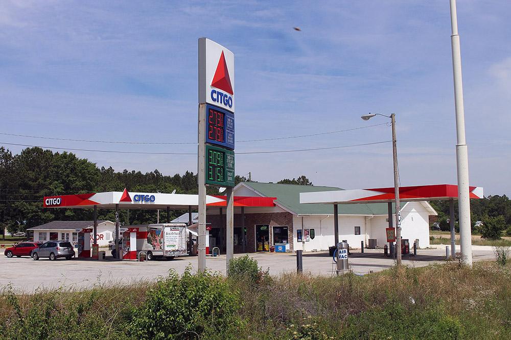 Citgo gas station.