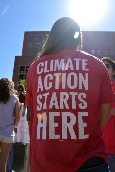Yup, climate action starts here!