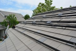 Micro-inverters have been installed on HCC Common House roof.